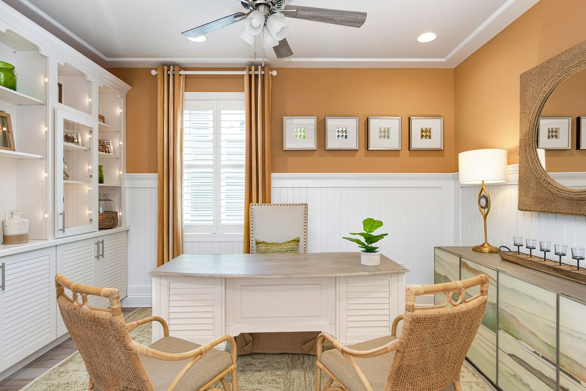 Living Area featured in The Orchid By Schell Brothers in Richmond-Petersburg, VA