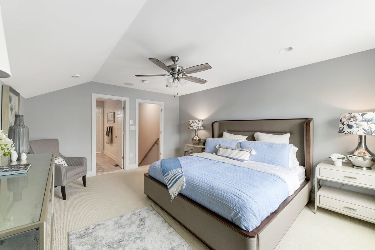 Bedroom featured in The Orchid By Schell Brothers in Richmond-Petersburg, VA