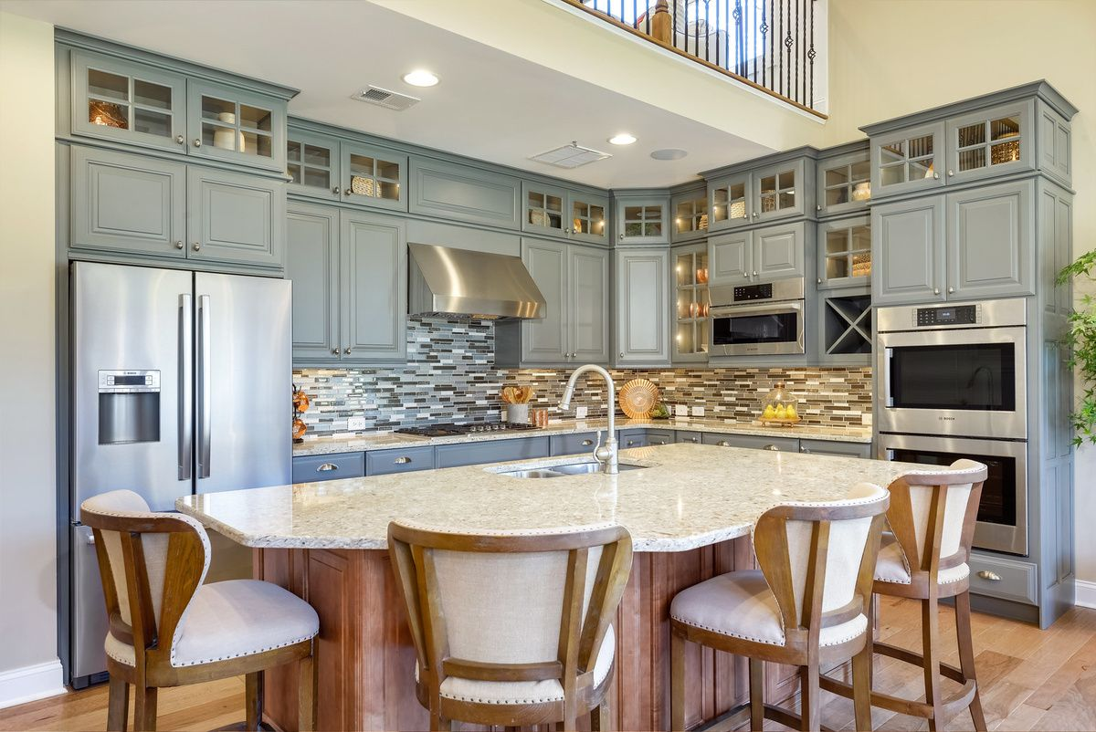 Kitchen featured in The Montauk By Schell Brothers in Sussex, DE