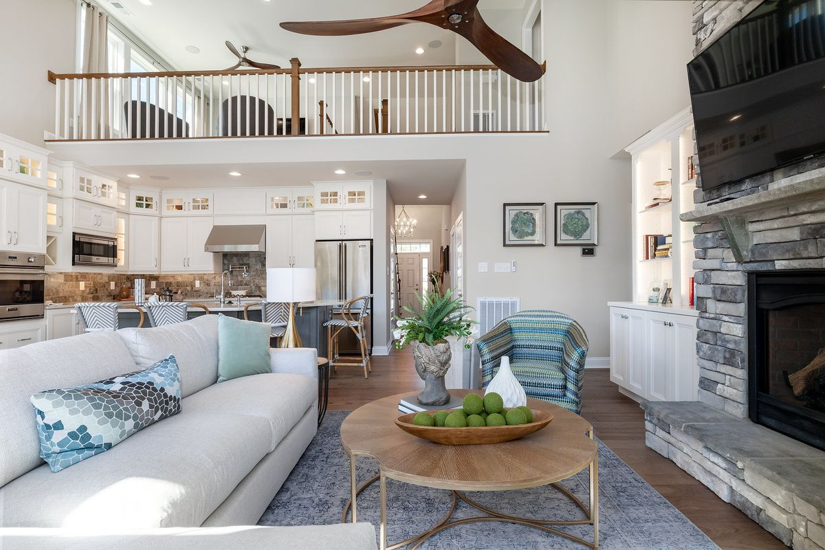 Living Area featured in The Montauk By Schell Brothers in Richmond-Petersburg, VA