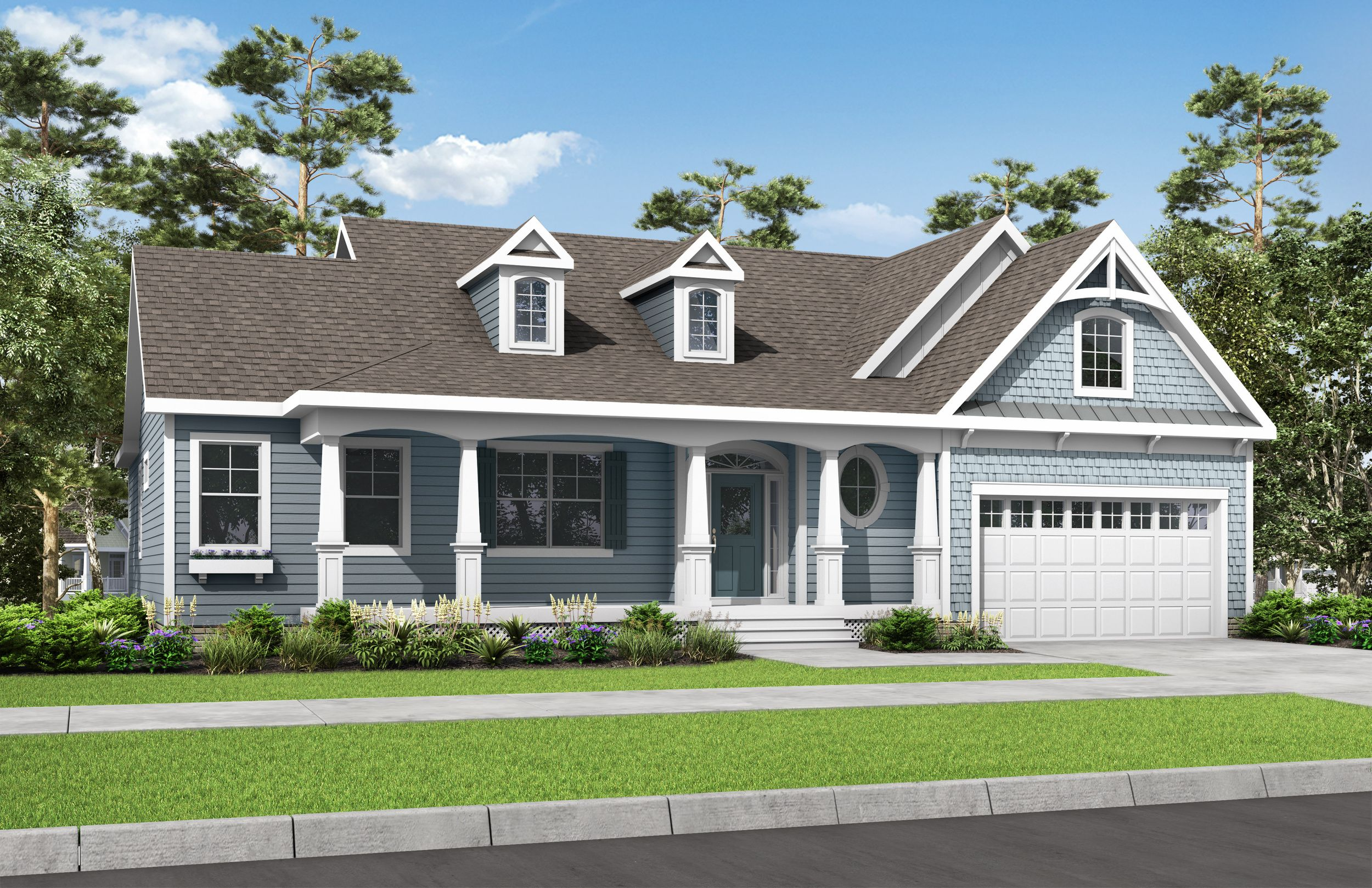 Exterior featured in The Mayberry By Schell Brothers in Sussex, DE