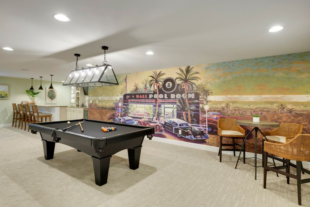 Living Area featured in The Heather By Schell Brothers in Sussex, DE