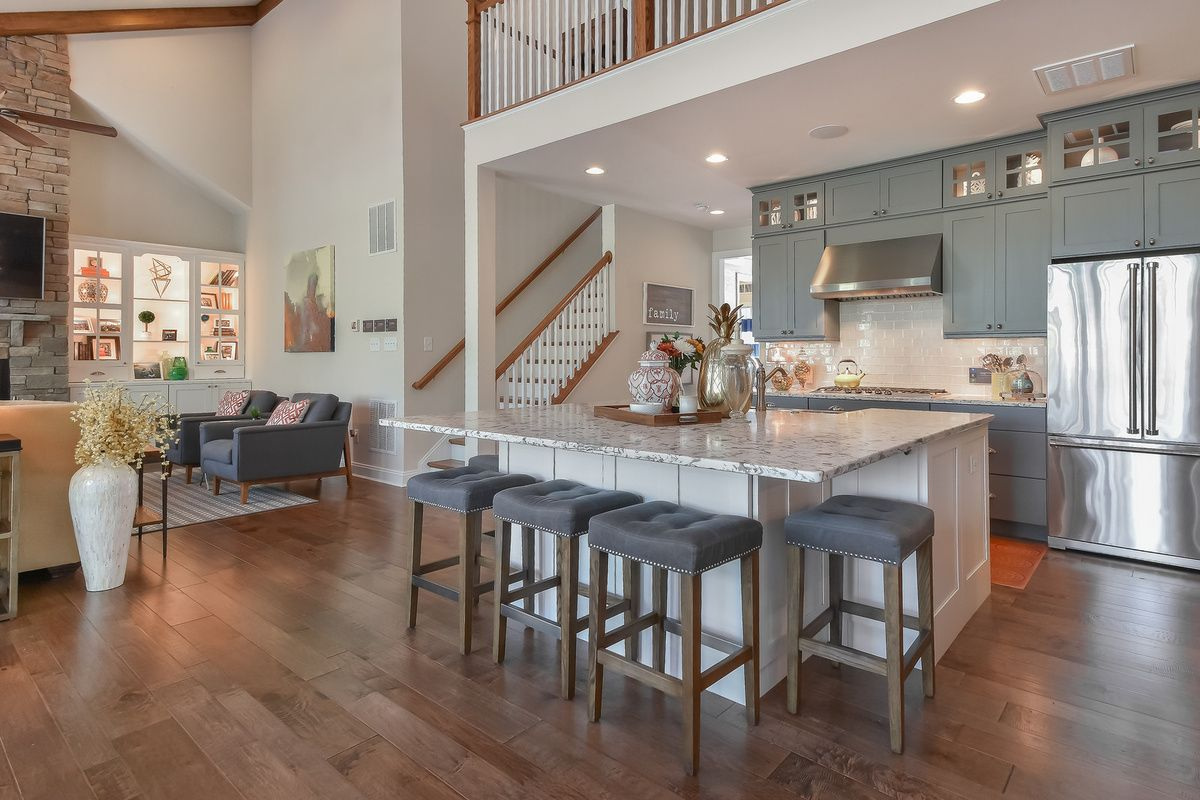 Kitchen featured in The Whimbrel By Schell Brothers in Richmond-Petersburg, VA