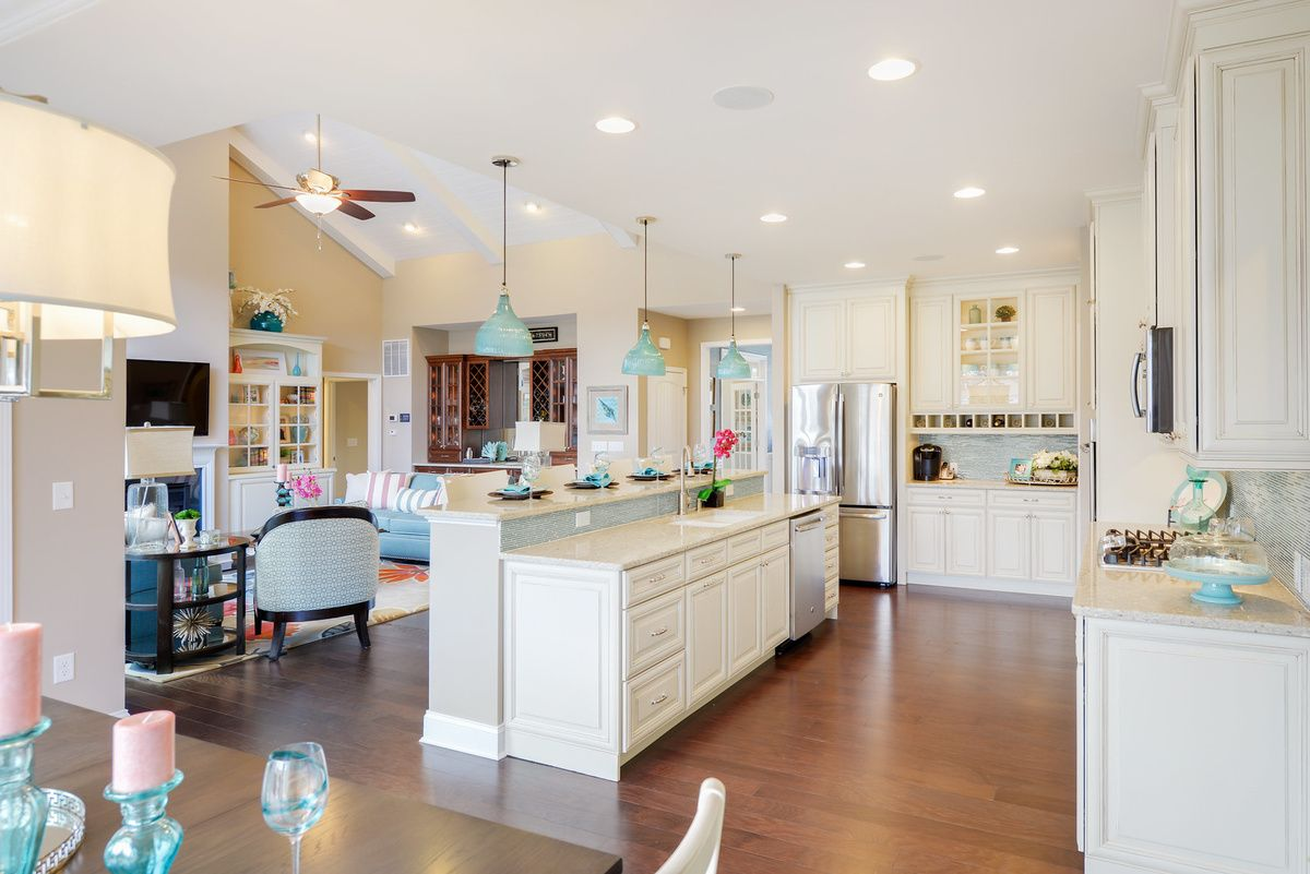 Kitchen featured in The Mayberry By Schell Brothers in Sussex, DE