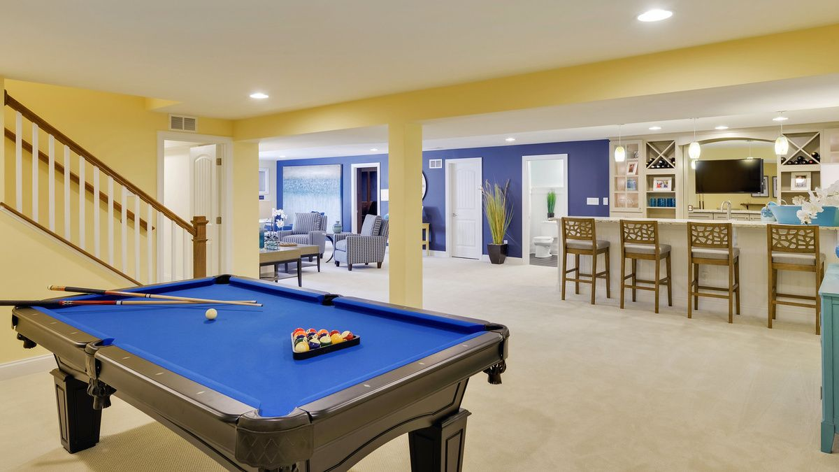 Living Area featured in The Mayberry By Schell Brothers in Sussex, DE