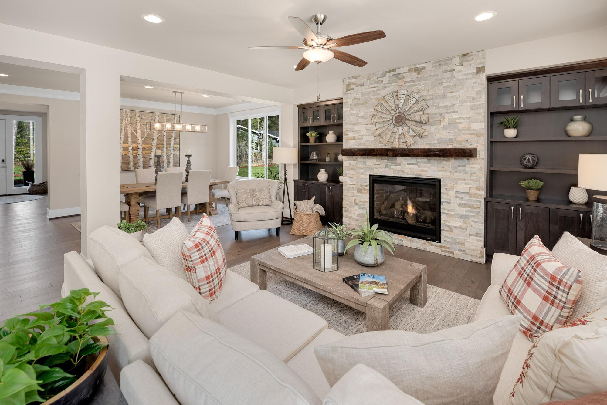 Living Area featured in the Plan 263 By Schneider Family Homes in Seattle-Bellevue, WA