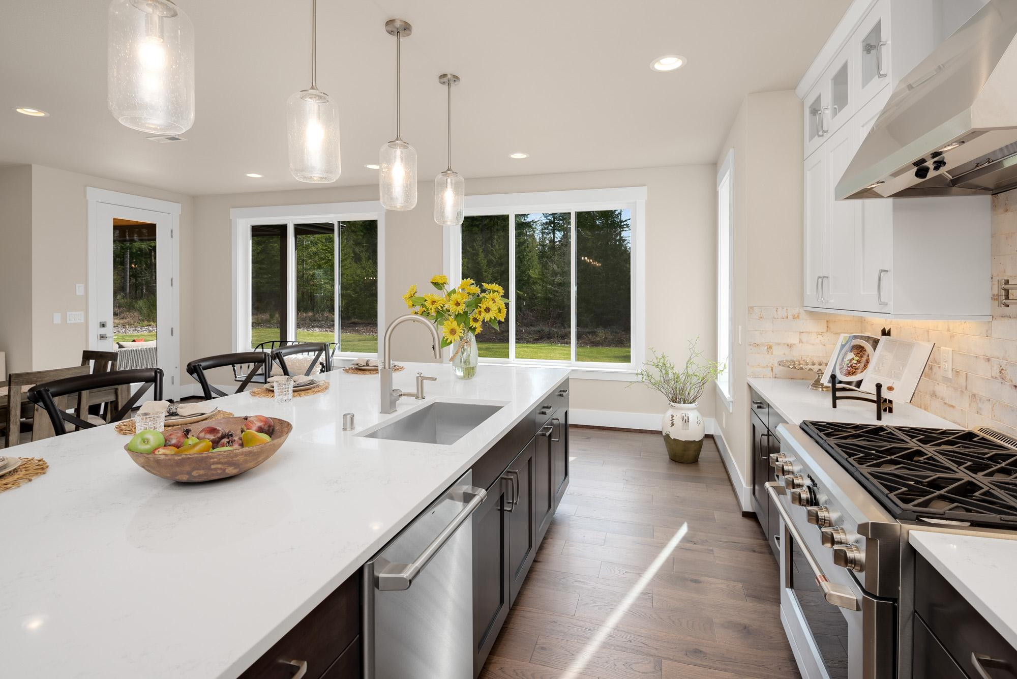 Kitchen featured in the Plan 263 By Schneider Family Homes in Seattle-Bellevue, WA