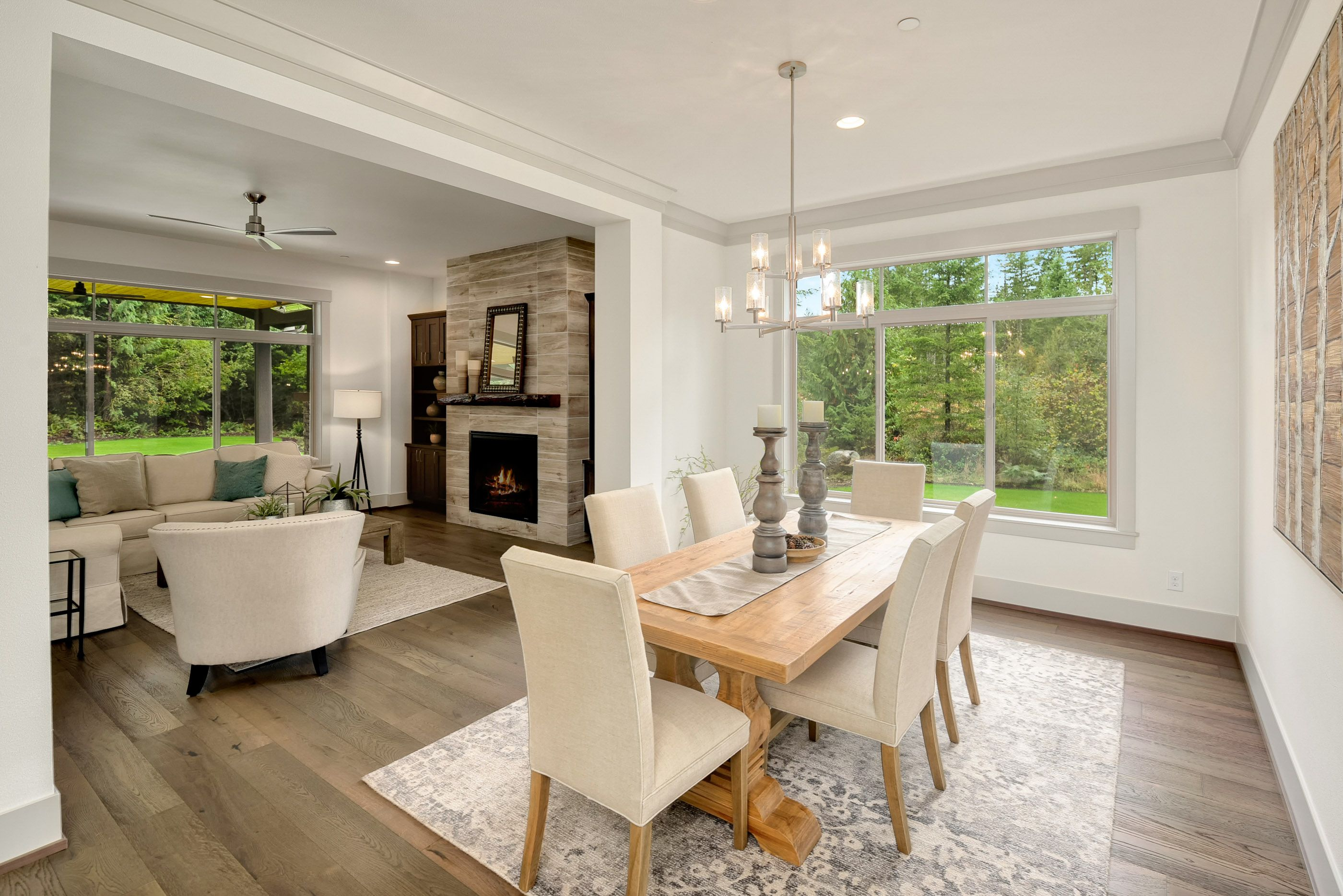 Living Area featured in the Plan 164 By Schneider Family Homes in Seattle-Bellevue, WA