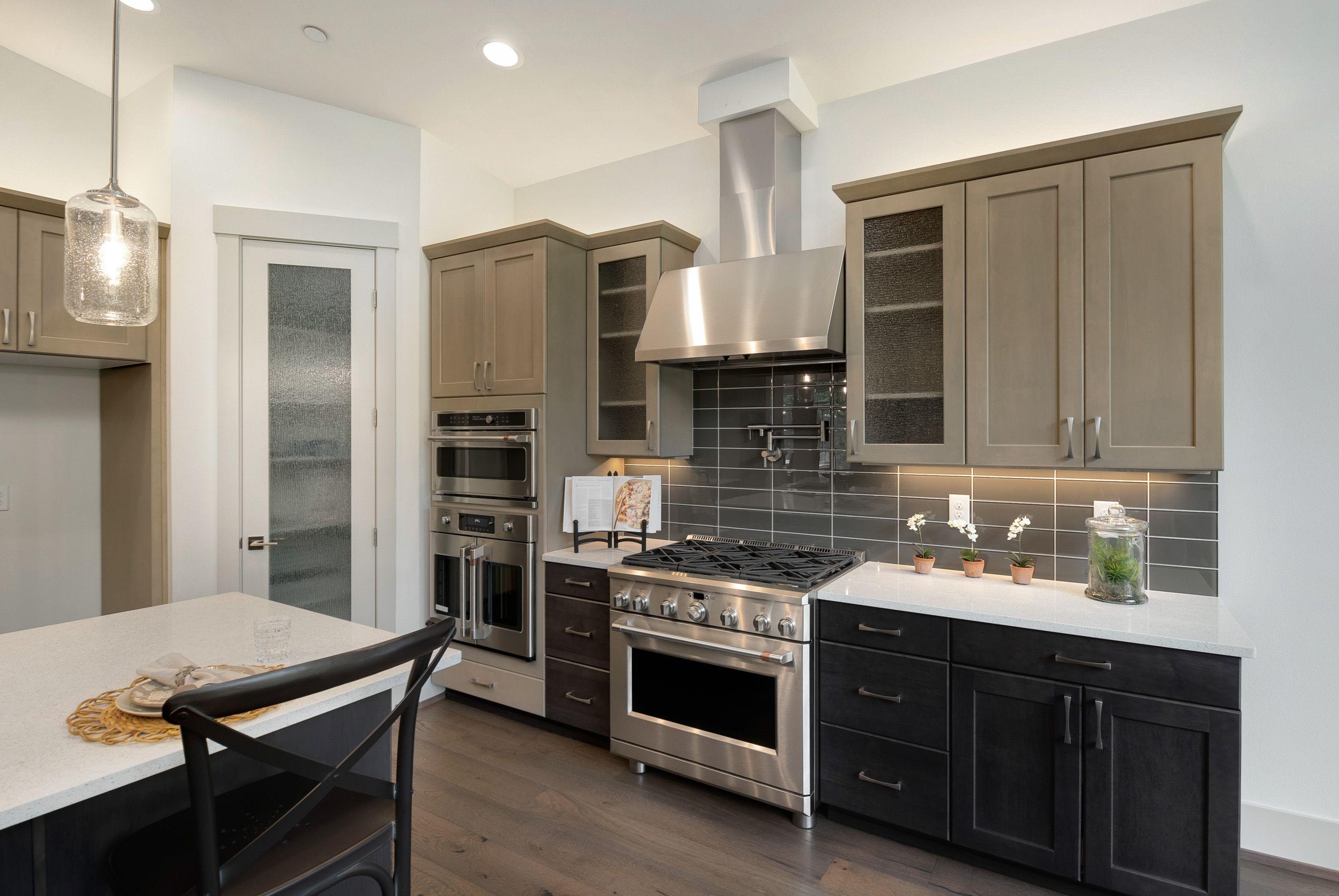 Kitchen featured in the Plan 164 By Schneider Family Homes in Seattle-Bellevue, WA