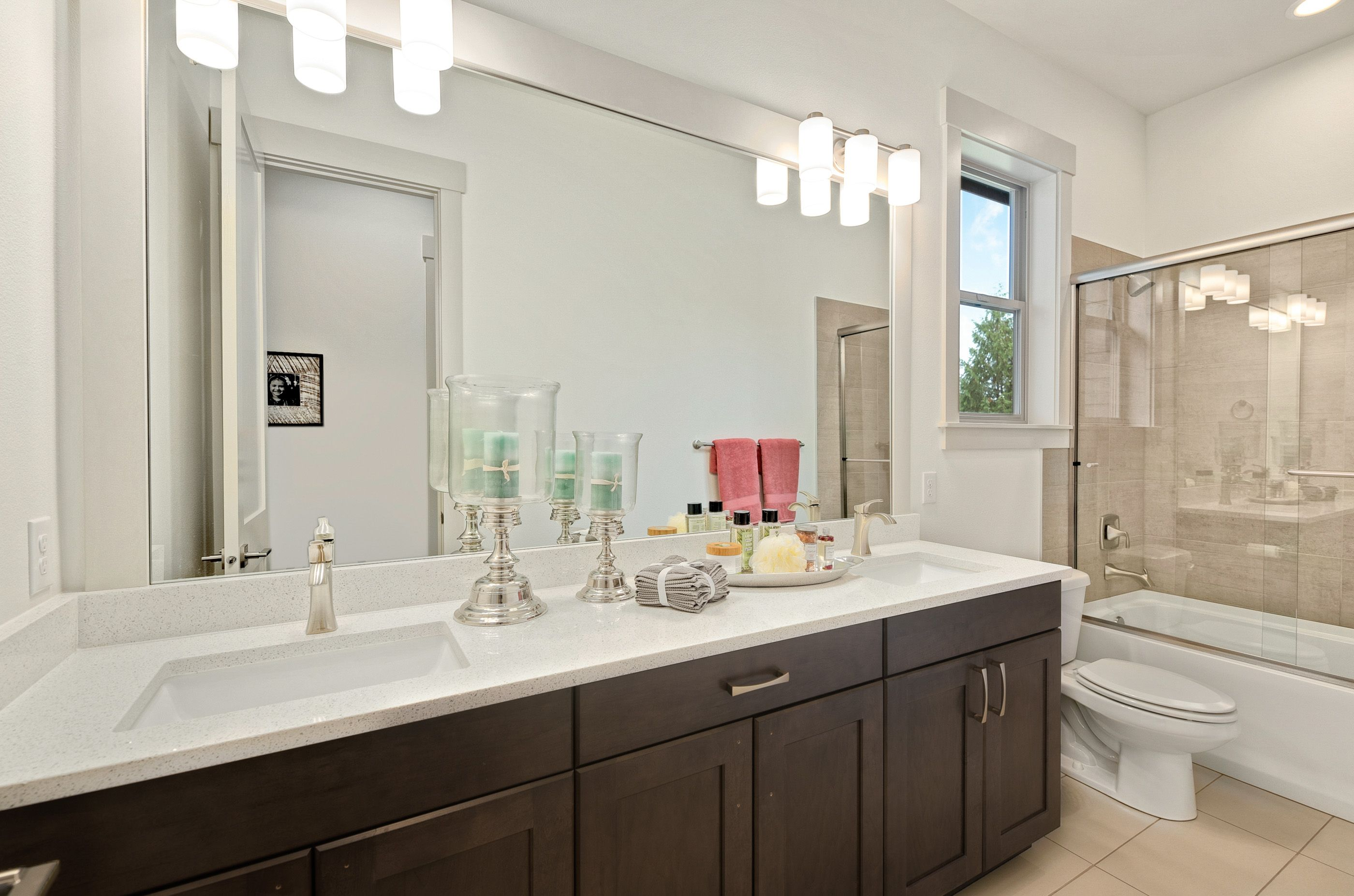 Bathroom featured in the Plan 164 By Schneider Family Homes in Seattle-Bellevue, WA