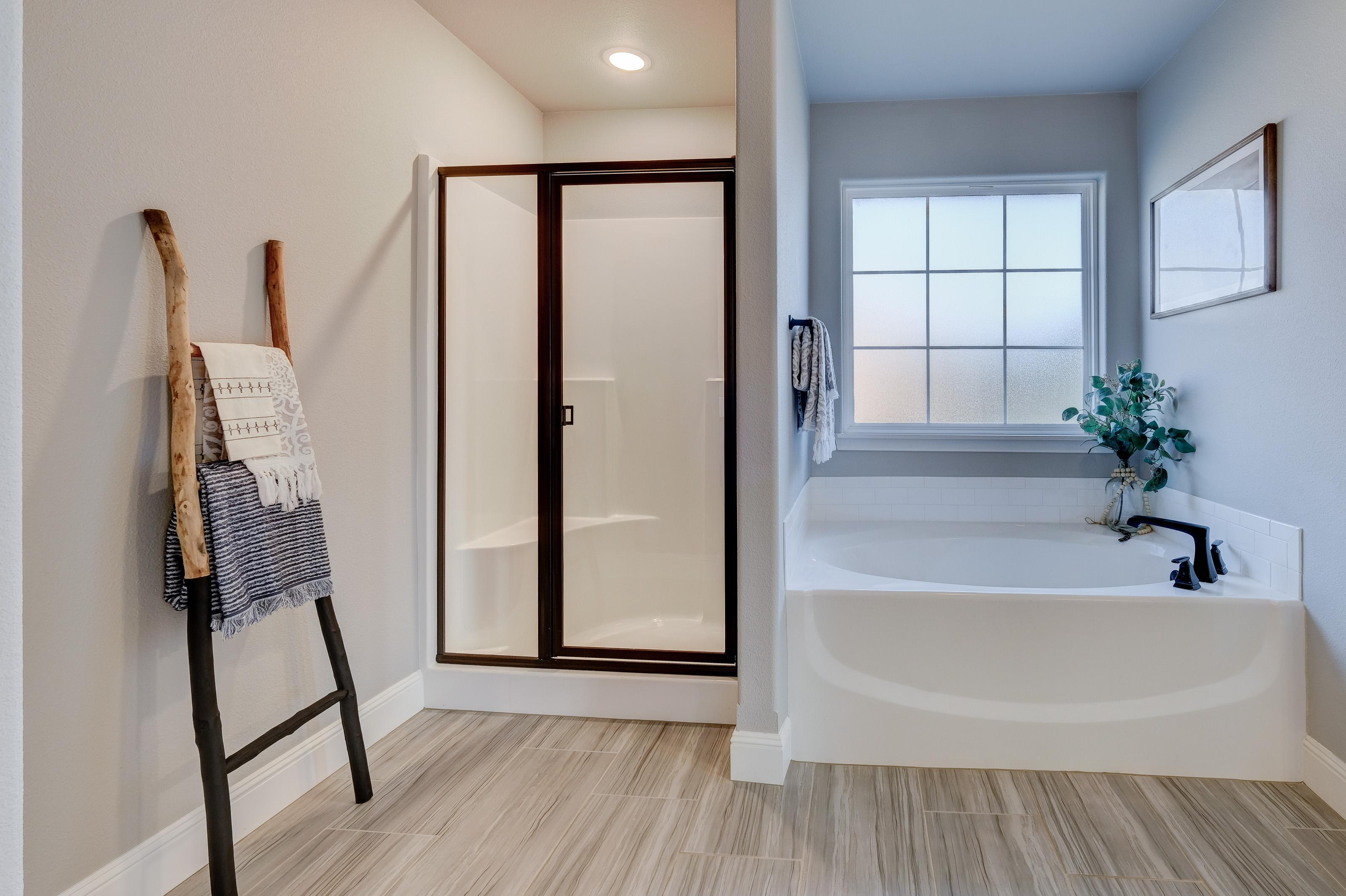 Bathroom featured in the 2050KP Series By Schuber Mitchell Homes in Fayetteville, AR