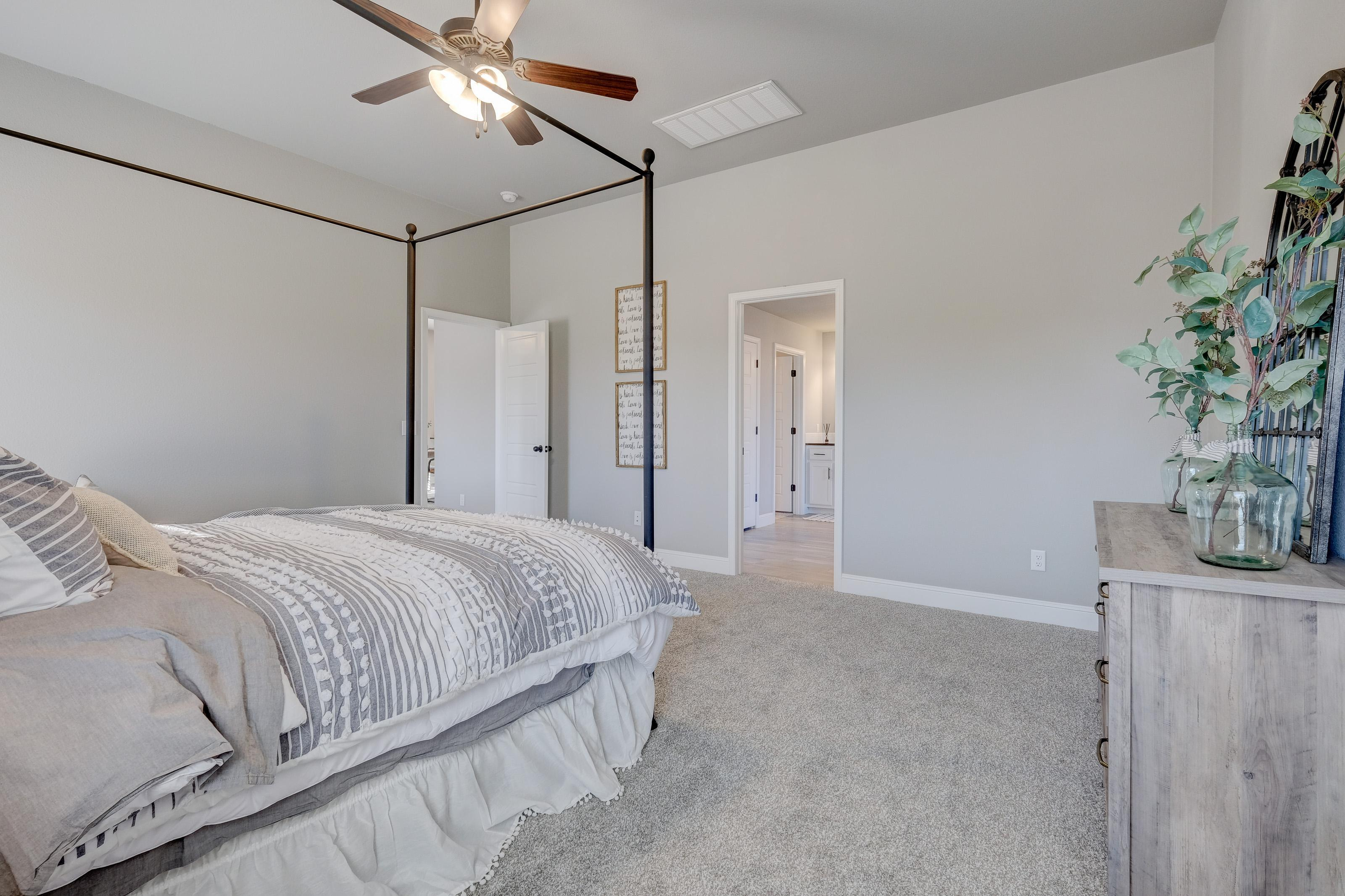 Bedroom featured in the 2050KP Series By Schuber Mitchell Homes in Joplin, MO