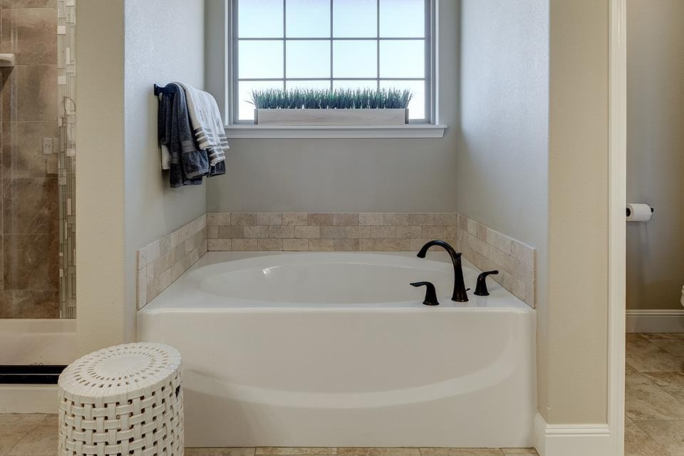 Bathroom featured in the 2600T Series By Schuber Mitchell Homes in Joplin, MO