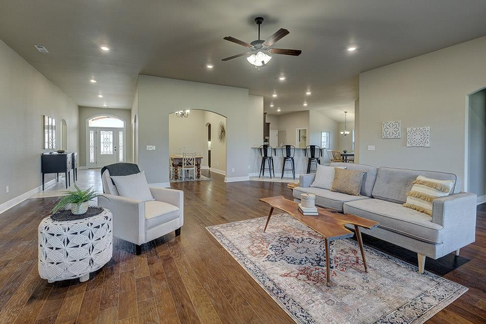 Living Area featured in the 3000 Series By Schuber Mitchell Homes in Joplin, MO