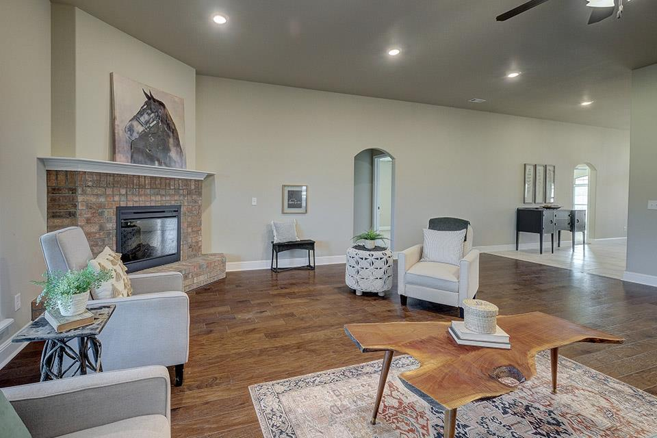 Living Area featured in the 3000 Series By Schuber Mitchell Homes in Fayetteville, AR
