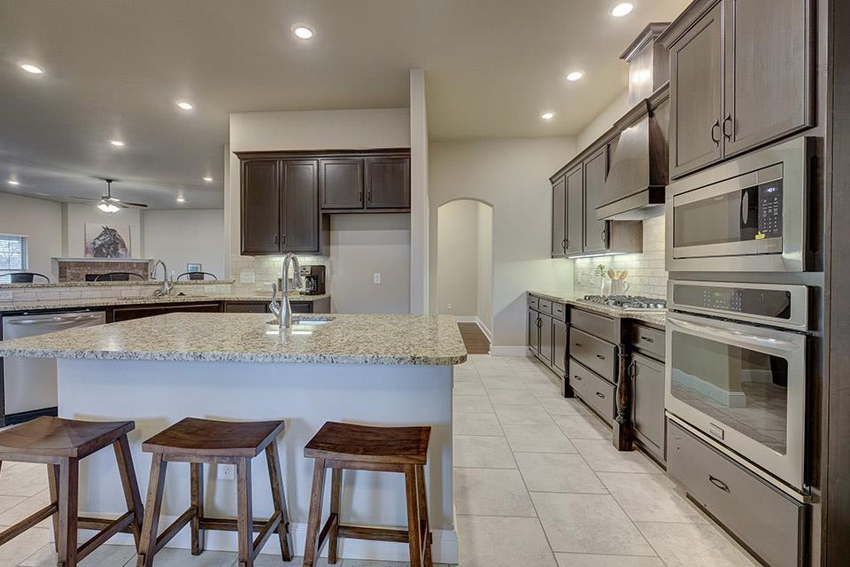Kitchen featured in the 3000 Series By Schuber Mitchell Homes in Fayetteville, AR