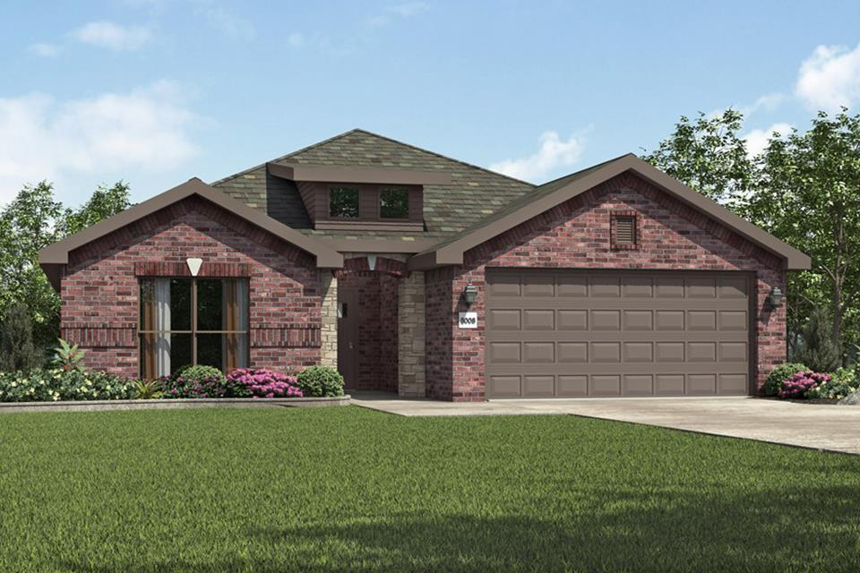Exterior featured in the 2050KB Series By Schuber Mitchell Homes in Joplin, MO