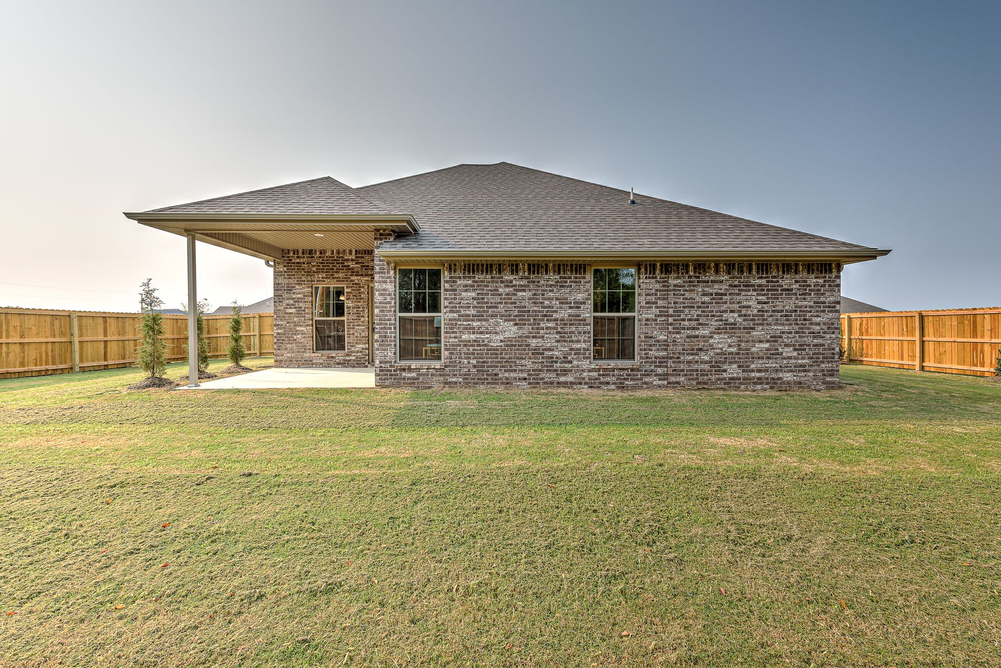Exterior featured in the 1650KI Series By Schuber Mitchell Homes in Fayetteville, AR