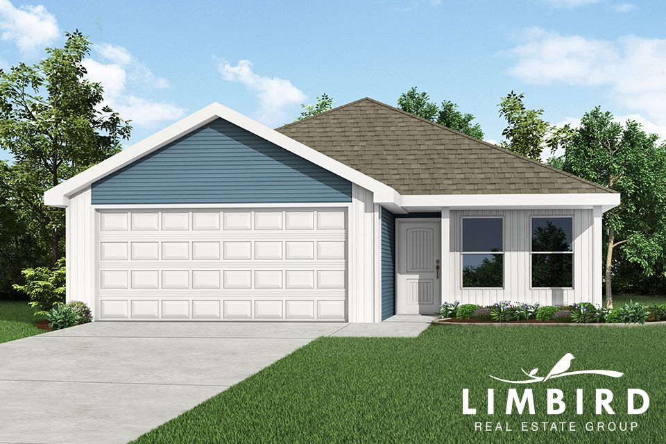 Exterior featured in the 1100C-KI Series By Schuber Mitchell Homes in Fayetteville, AR