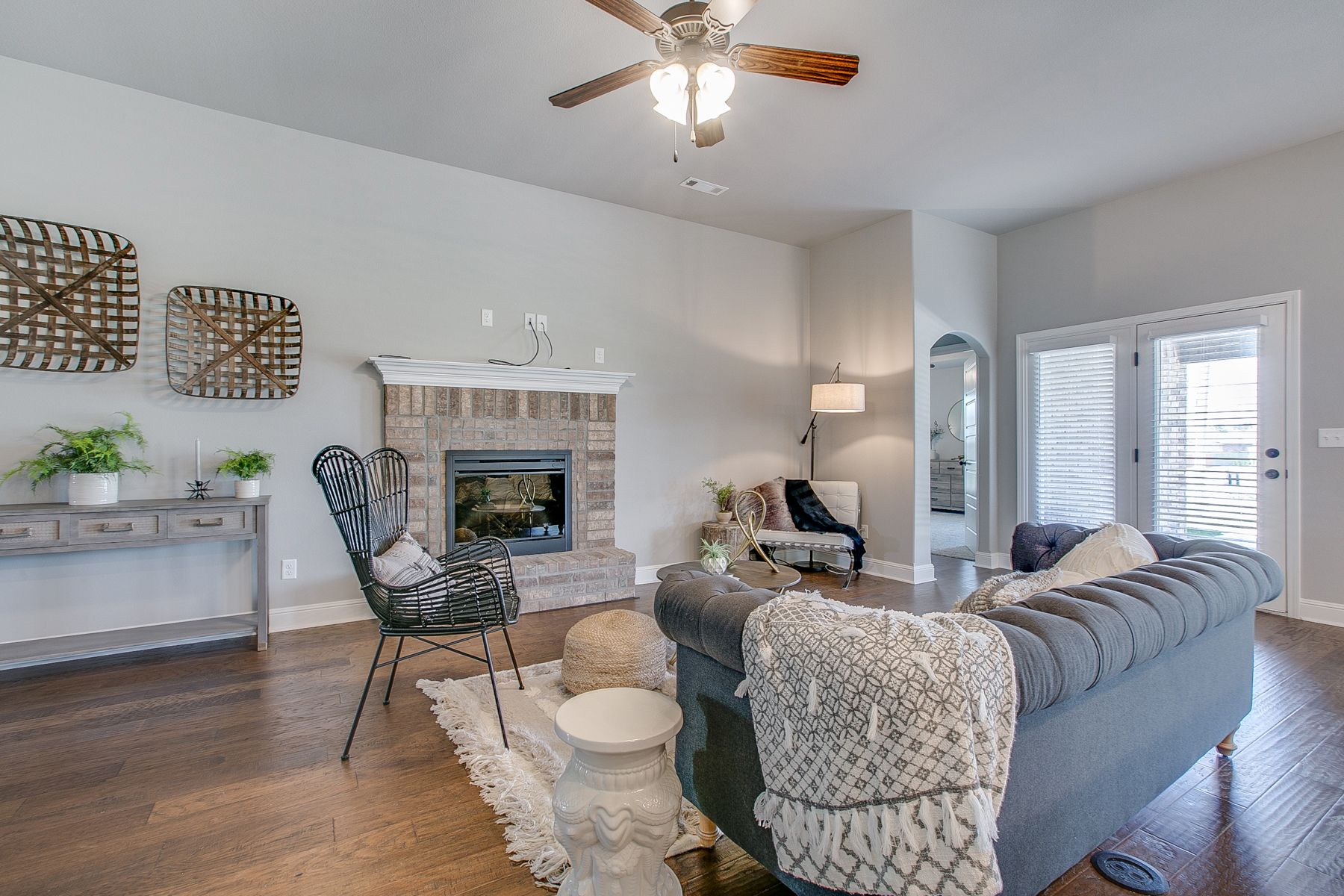 Living Area featured in the 1700KI Series By Schuber Mitchell Homes in Fayetteville, AR