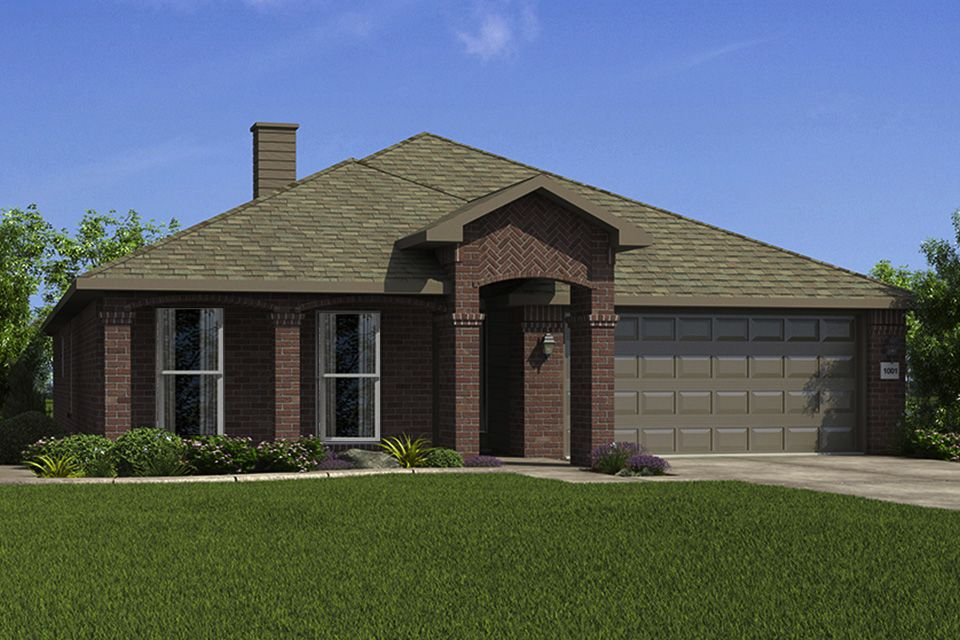 Exterior featured in the 1700KI Series By Schuber Mitchell Homes in Joplin, MO