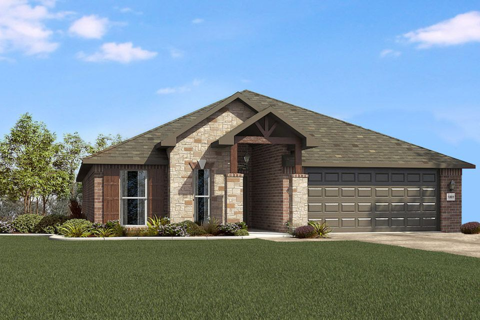 Exterior featured in the 2000KI Series By Schuber Mitchell Homes in Joplin, MO