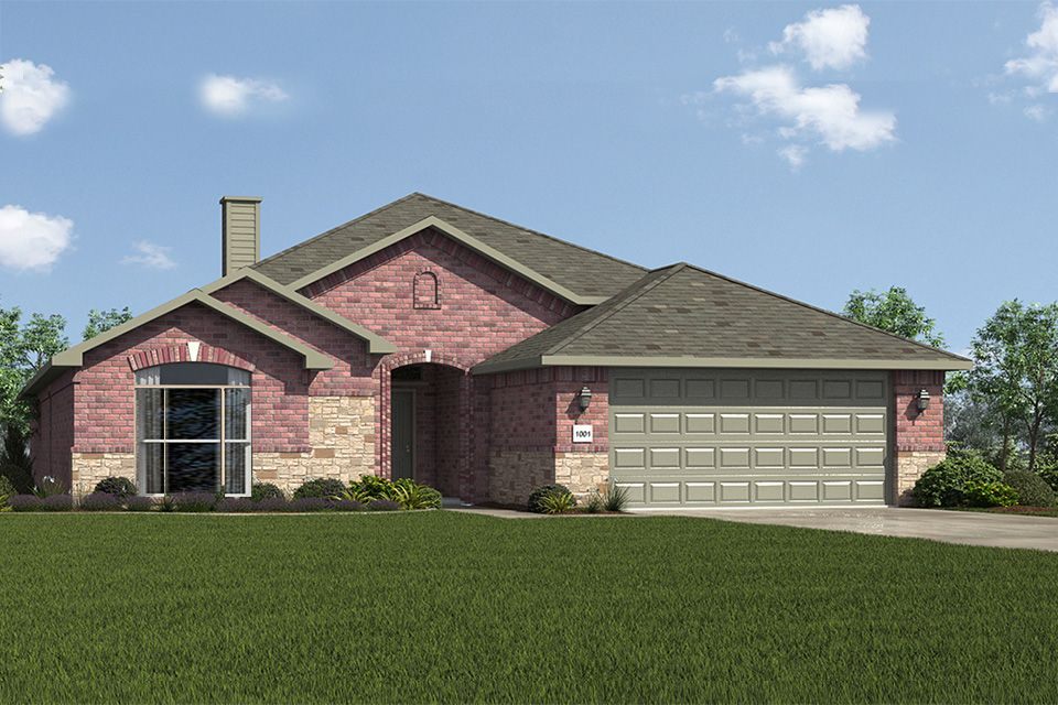 Exterior featured in the 2300KI Series By Schuber Mitchell Homes in Joplin, MO