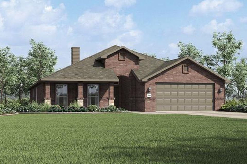 Exterior featured in the 2300KI Series By Schuber Mitchell Homes in Fayetteville, AR