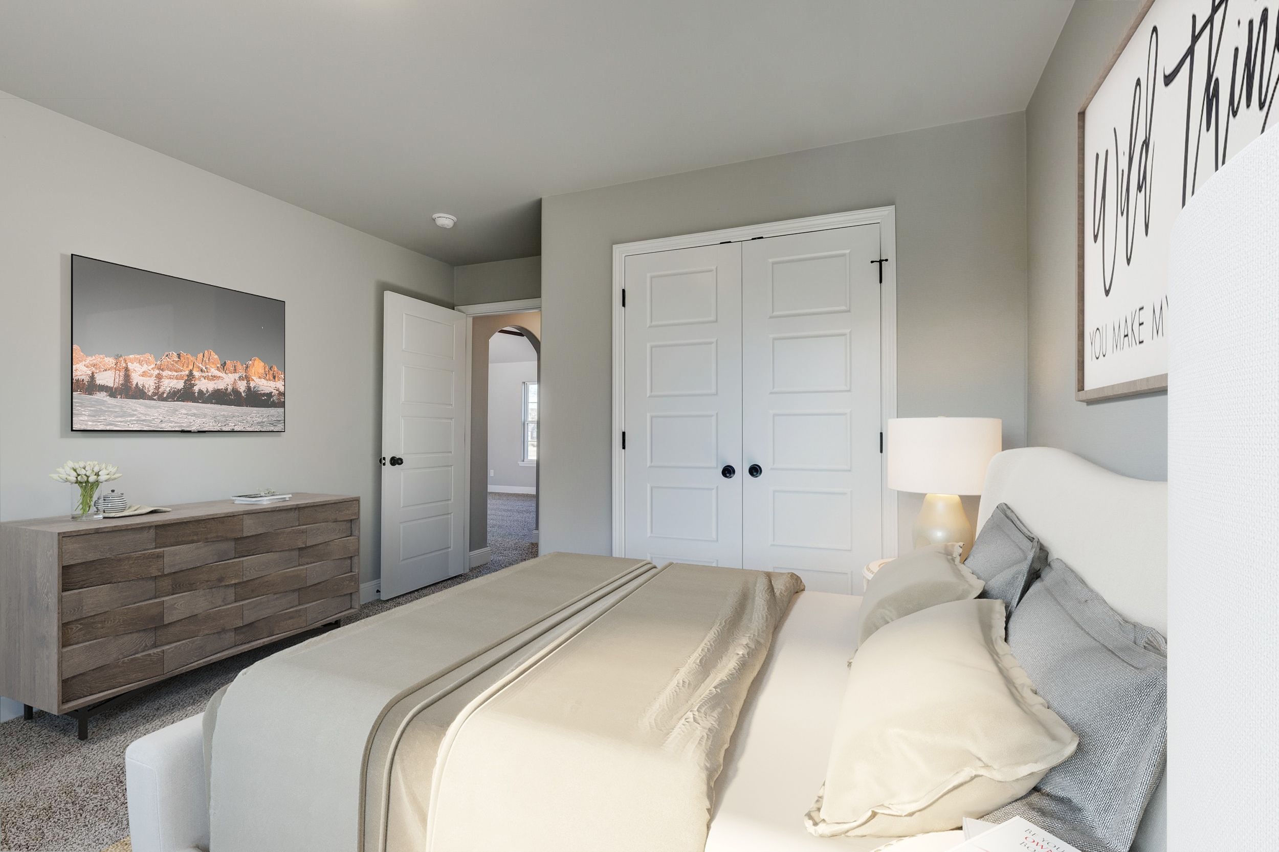 Bedroom featured in the 1400W Series By Schuber Mitchell Homes in Fayetteville, AR