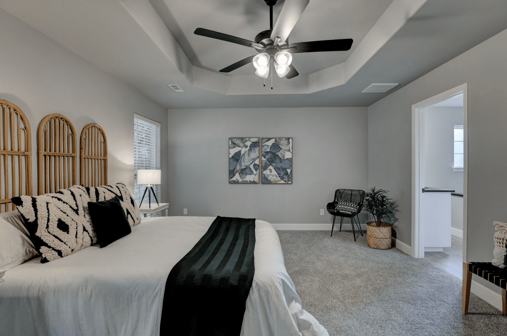 Bedroom featured in the 1700KI Series By Schuber Mitchell Homes in Joplin, MO