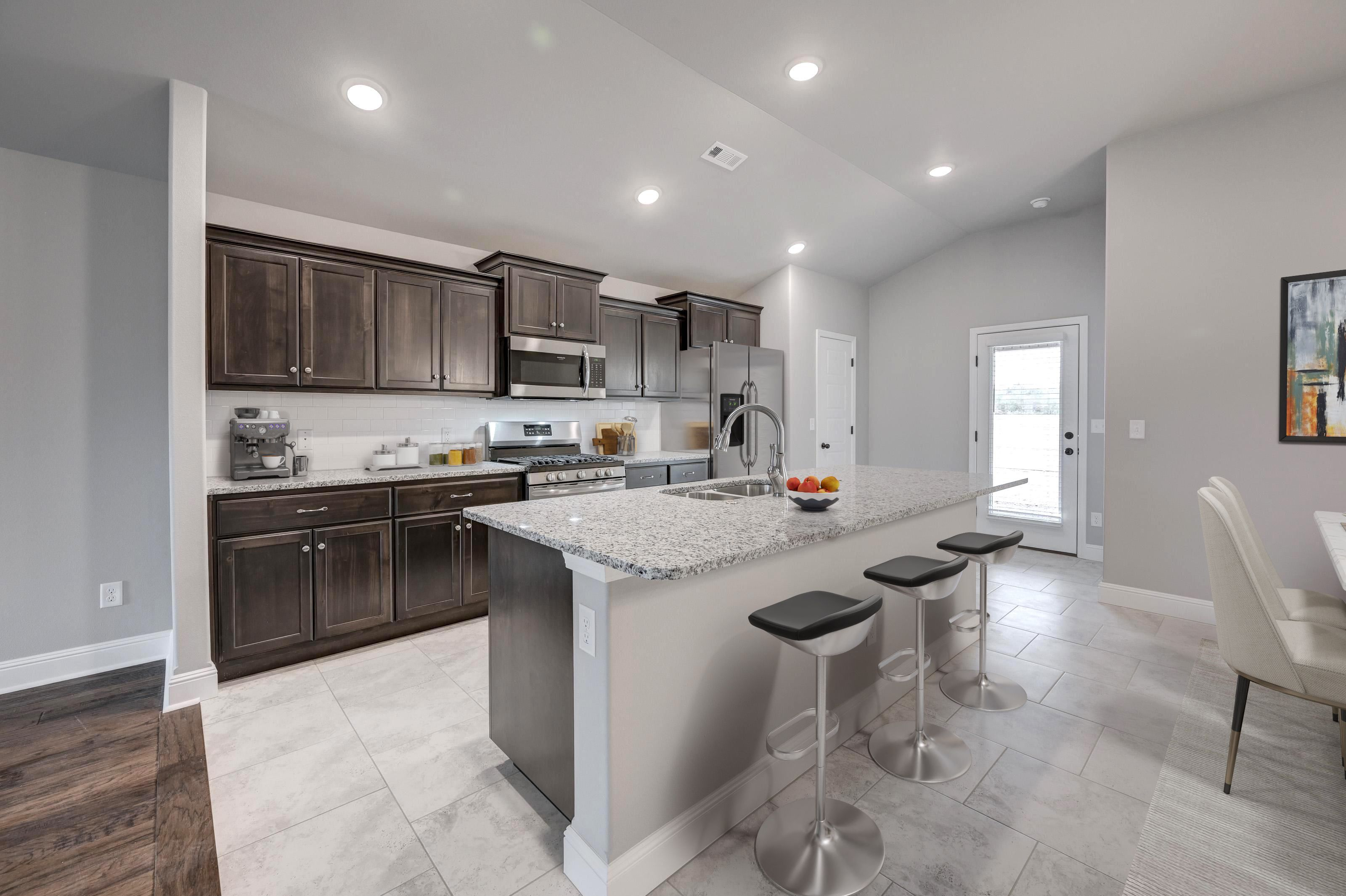 Kitchen featured in the 1550KB Series By Schuber Mitchell Homes in Joplin, MO