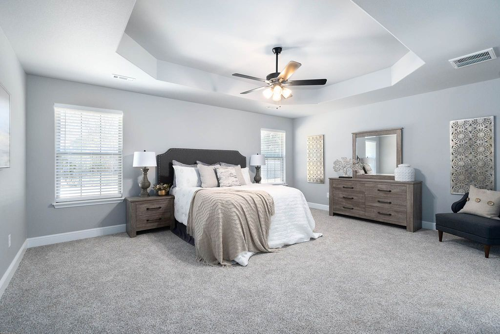 Bedroom featured in the 2300KI Series By Schuber Mitchell Homes in Joplin, MO