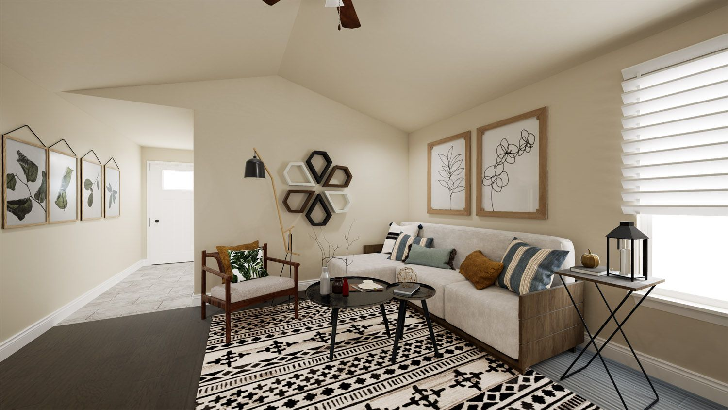 Living Area featured in the 1400-4 Series By Schuber Mitchell Homes in Joplin, MO