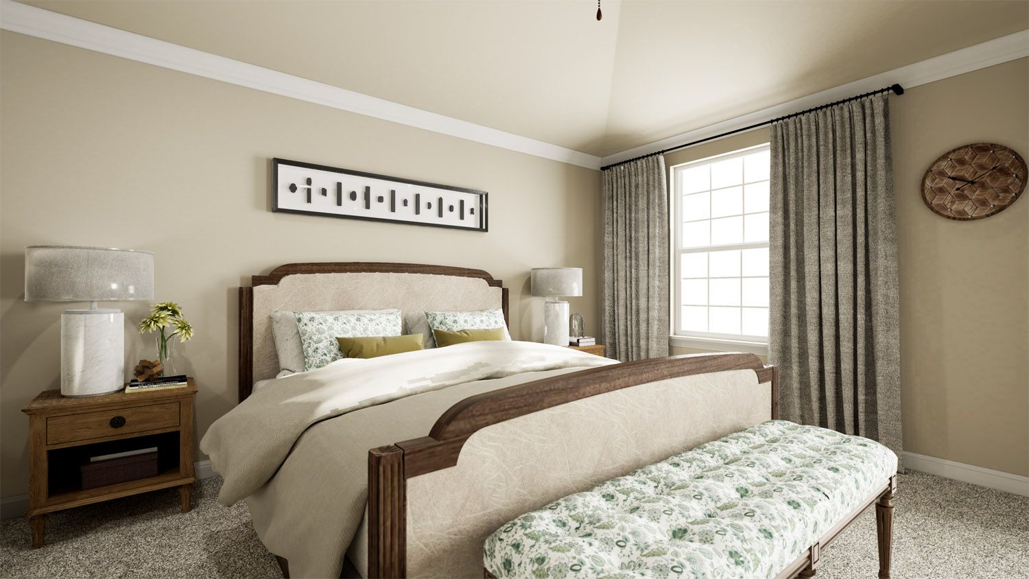 Bedroom featured in the 3000 Series By Schuber Mitchell Homes in Joplin, MO