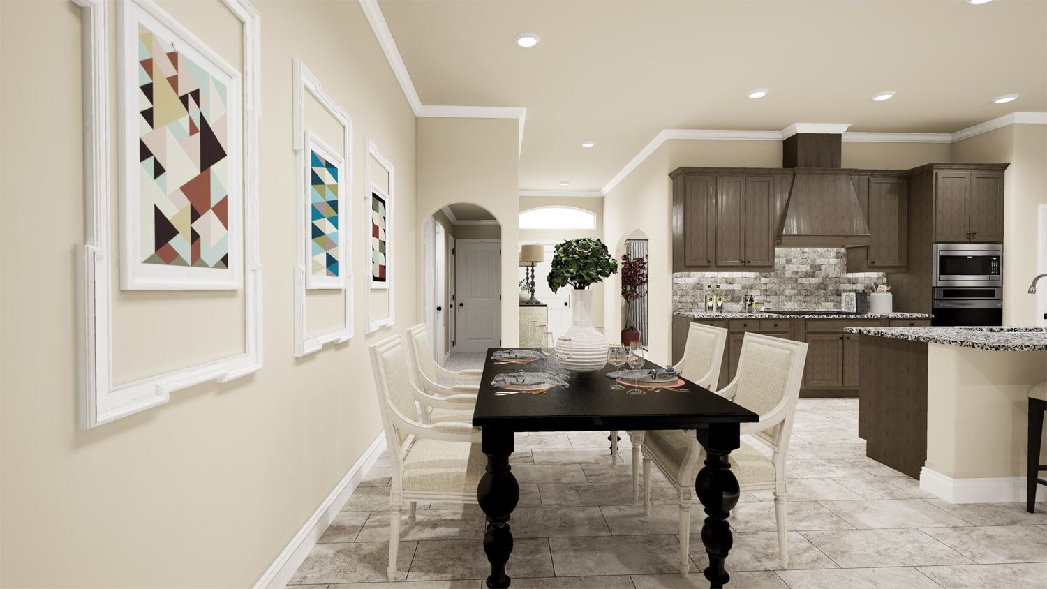 Kitchen featured in the 2500 Series By Schuber Mitchell Homes in Joplin, MO