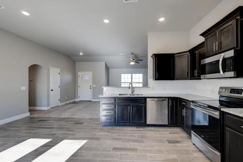 Kitchen-in-1400 Wide Series-at-Briar Meadows-in-Webb City