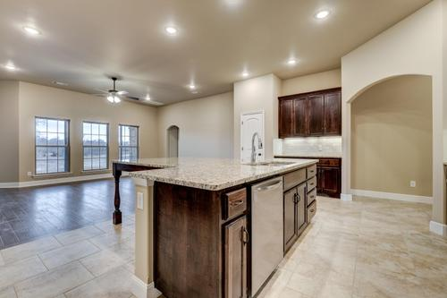 Kitchen-in-2600T Series-at-Willowbrook Farms-in-Bentonville