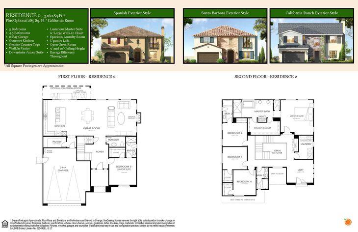 Plan Two Floor Plan:Lot 8 - Plan Two