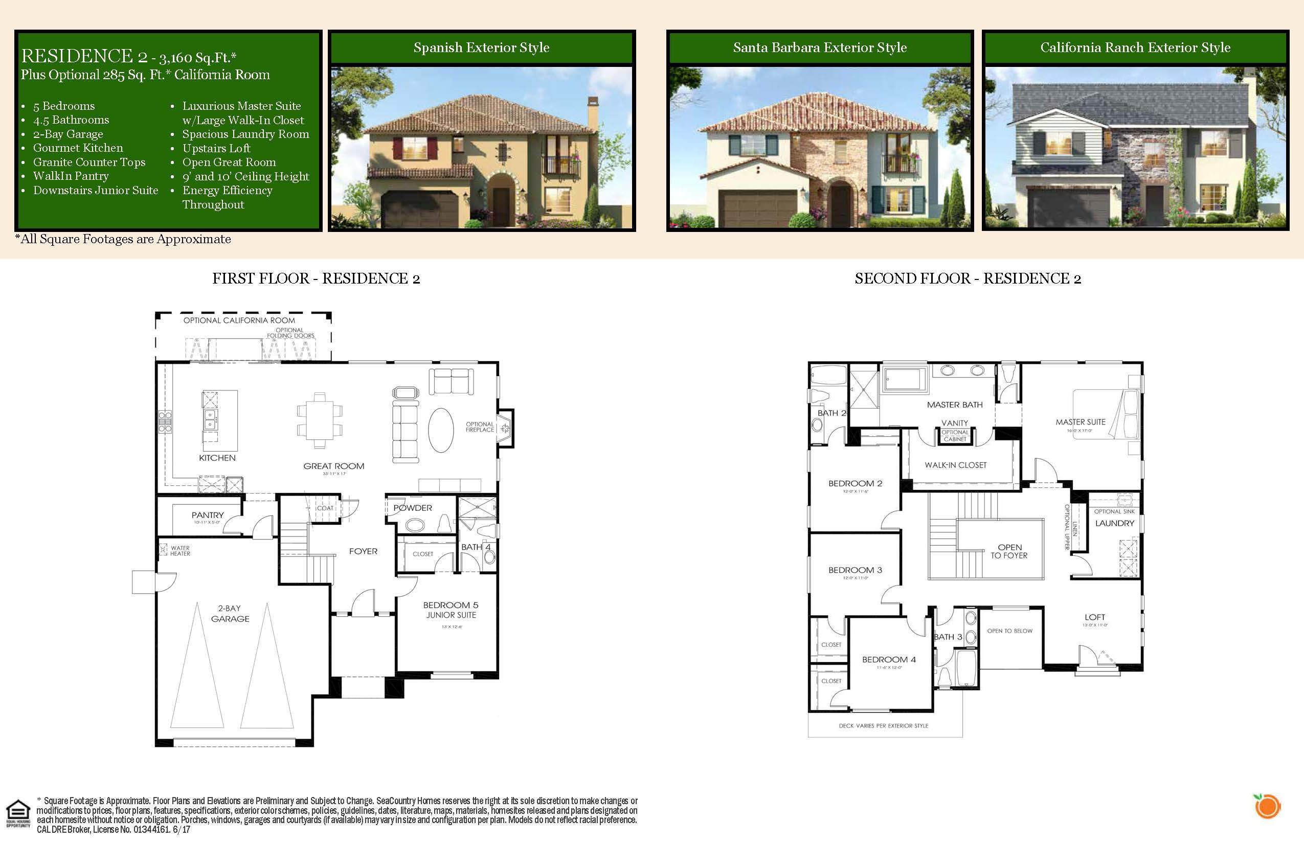 New Construction Homes And Floor Plans In Loma Linda Ca