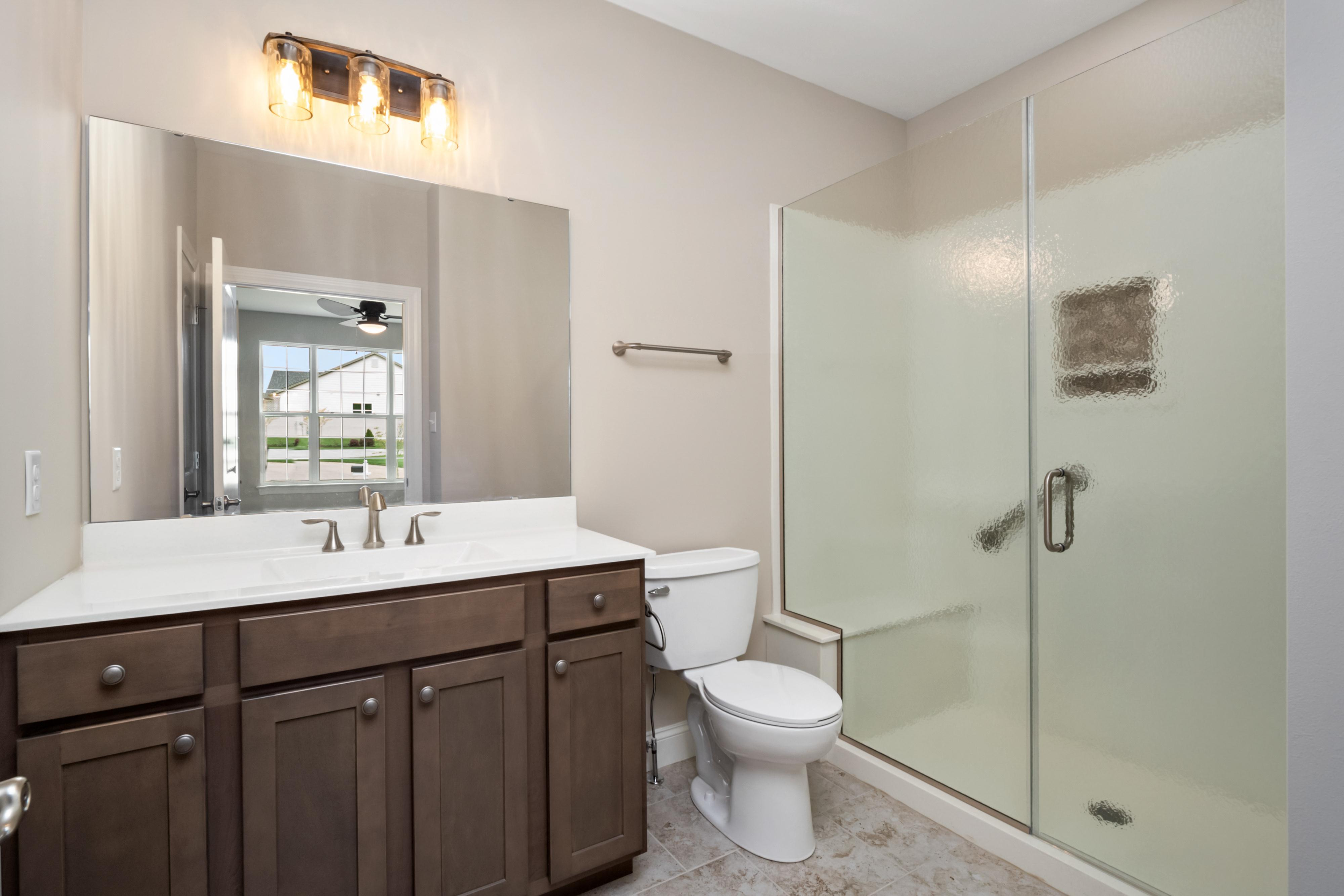 Bathroom featured in The Grand Columbia By The Kemp Homes Company  in St. Louis, MO