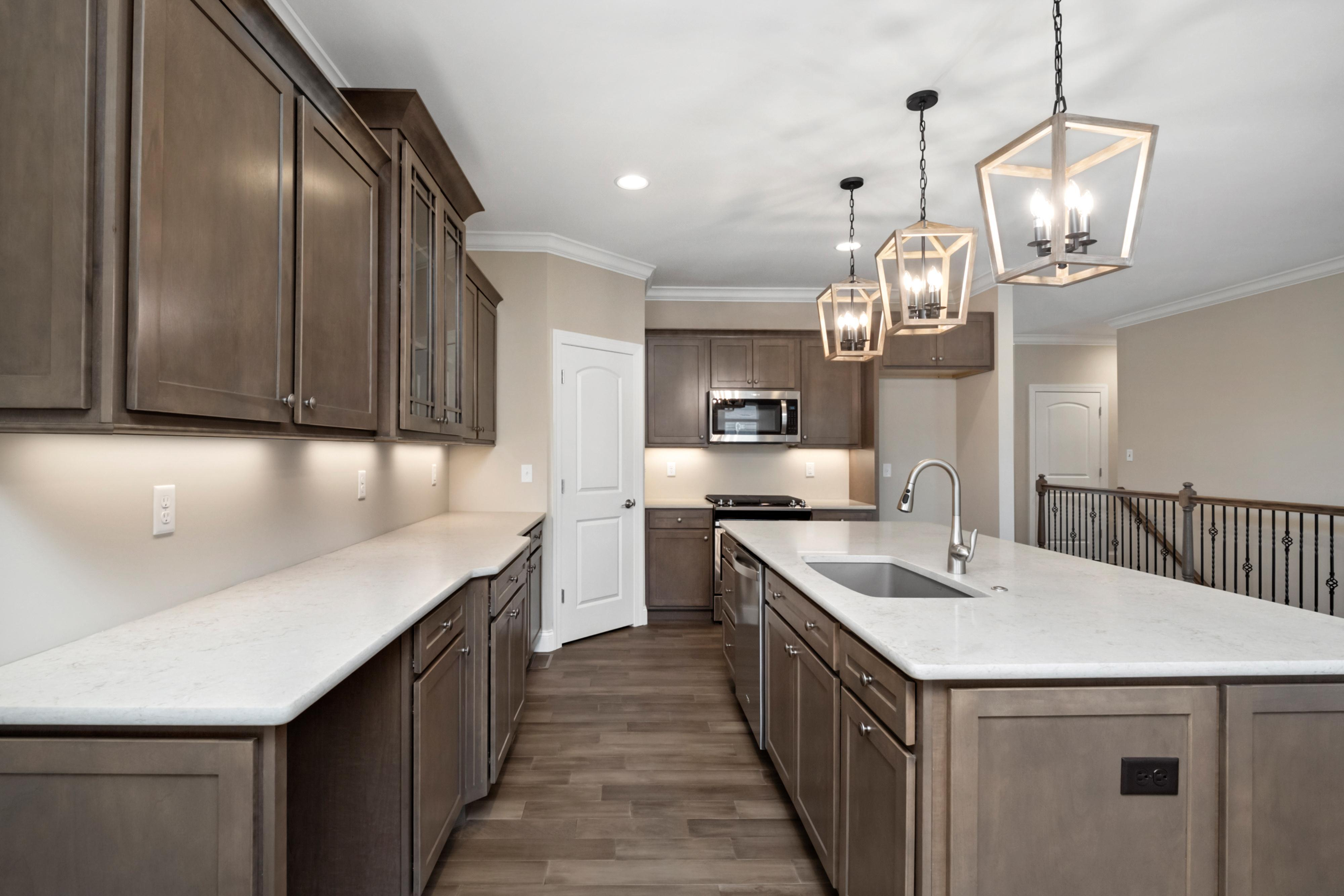 Kitchen featured in The Grand Columbia By The Kemp Homes Company  in St. Louis, MO