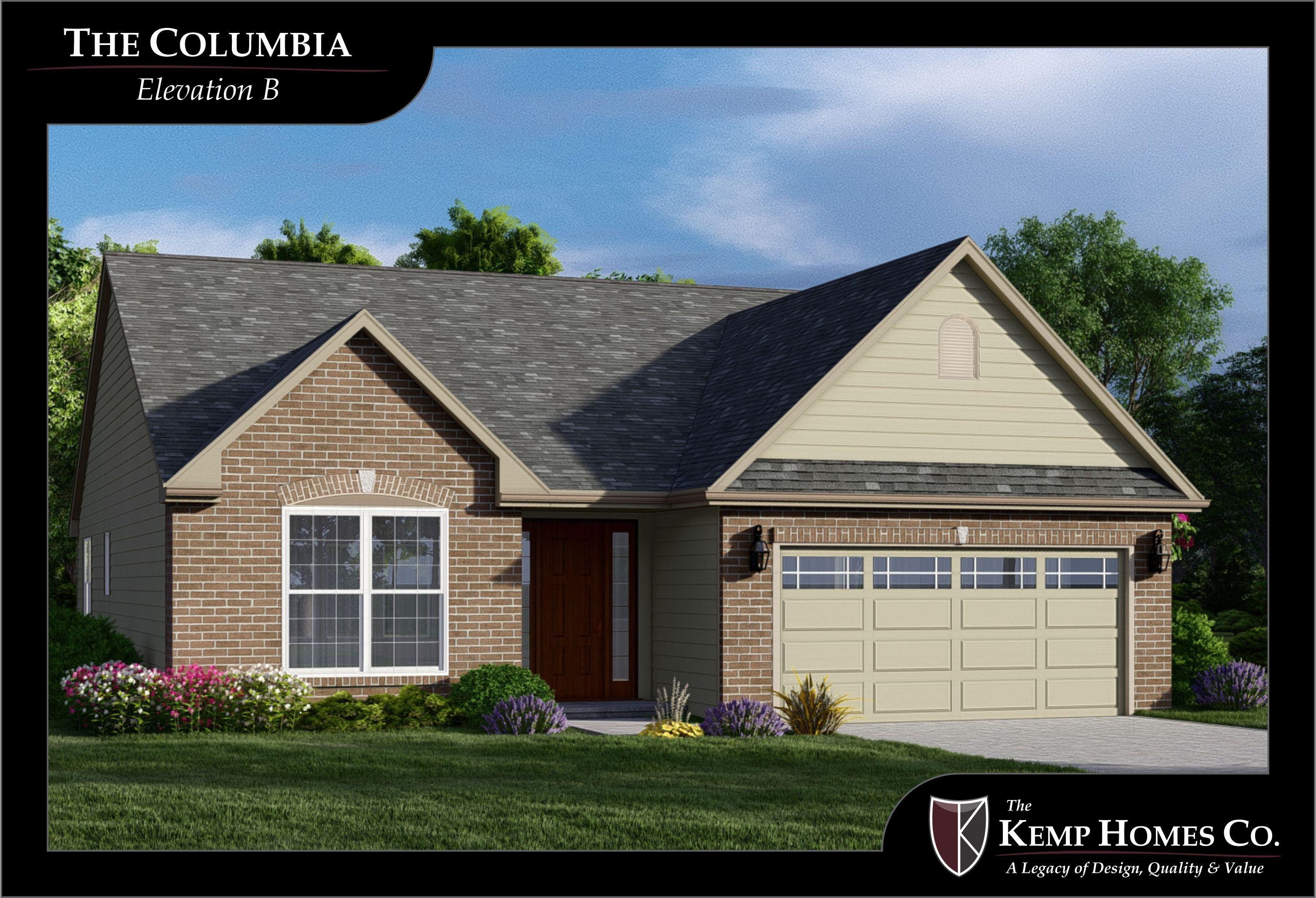 Exterior featured in The Columbia By The Kemp Homes Company  in St. Louis, MO