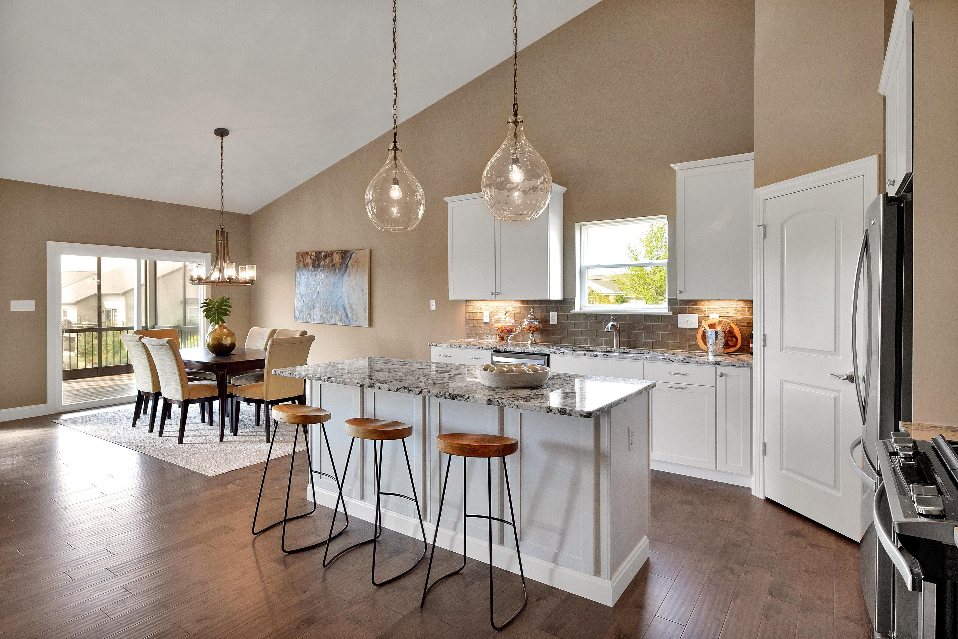 Kitchen featured in The Columbia By The Kemp Homes Company  in St. Louis, MO