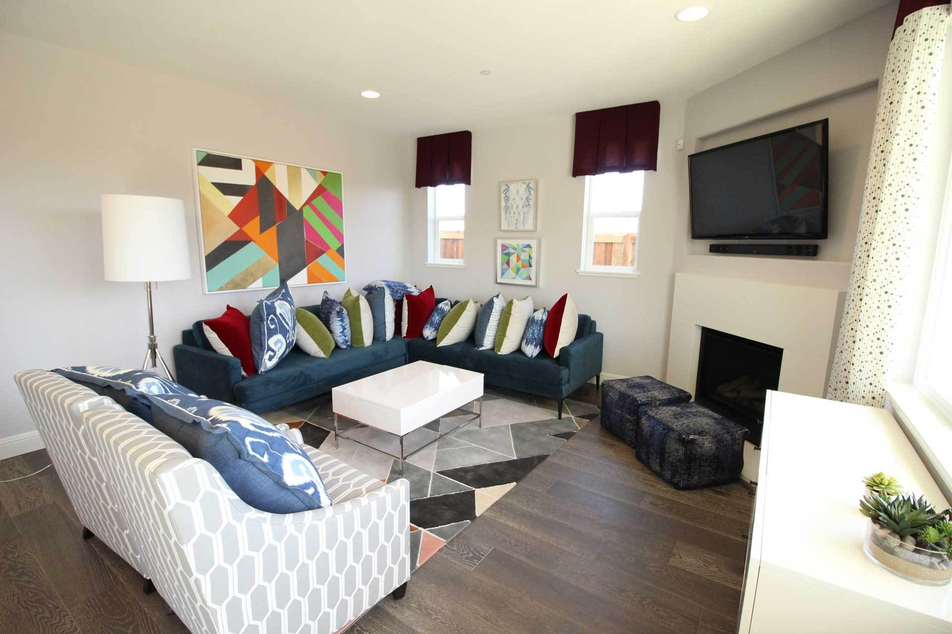 Living Area featured in the Bella By Seeno Homes in Oakland-Alameda, CA