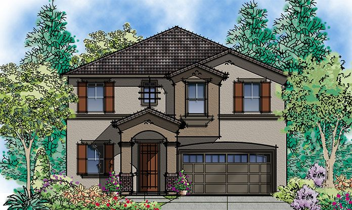 Exterior featured in the Carina By Seeno Homes in Oakland-Alameda, CA
