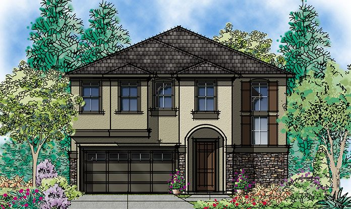 Exterior featured in the Donato By Seeno Homes in Oakland-Alameda, CA