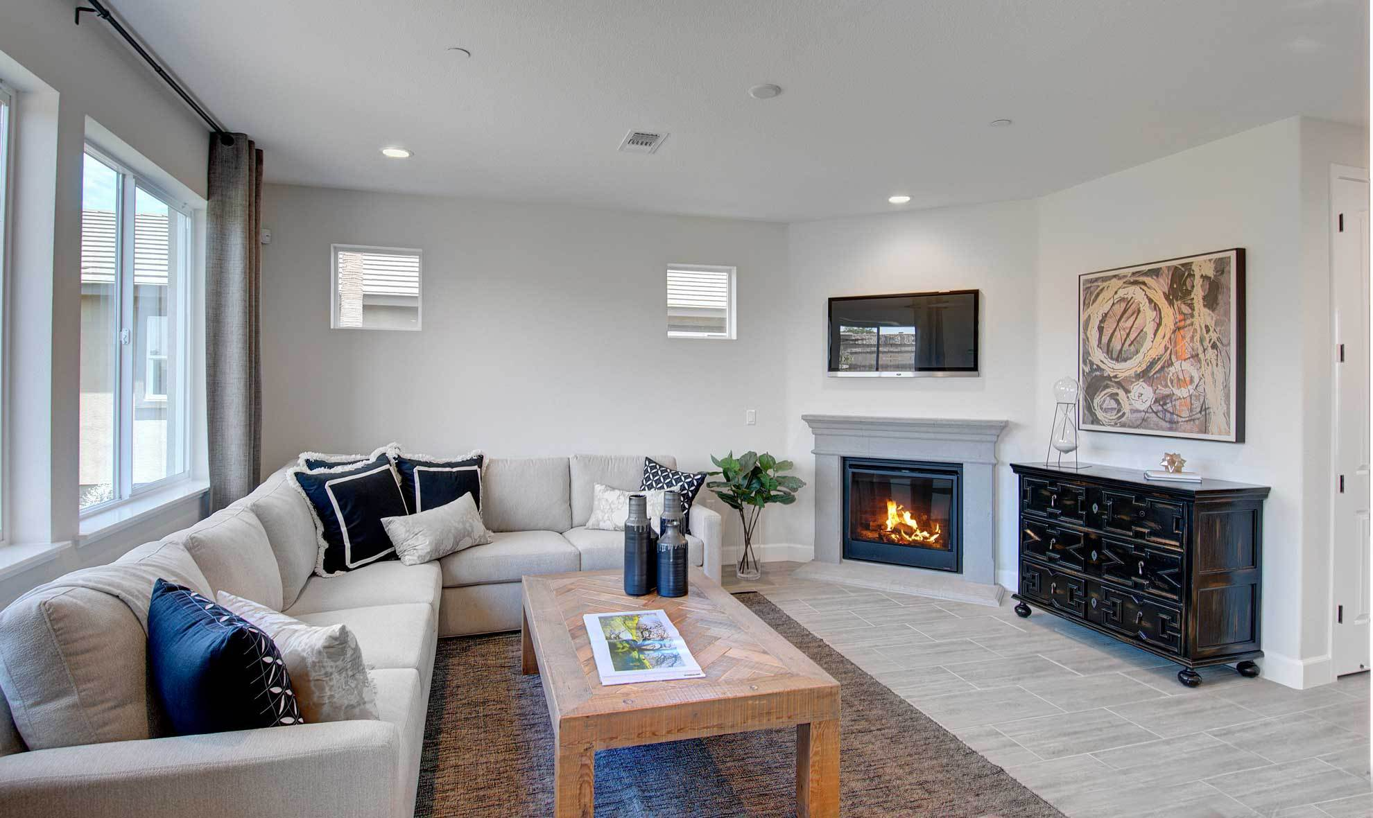 Living Area featured in the Bordeaux By Seeno Homes in Oakland-Alameda, CA