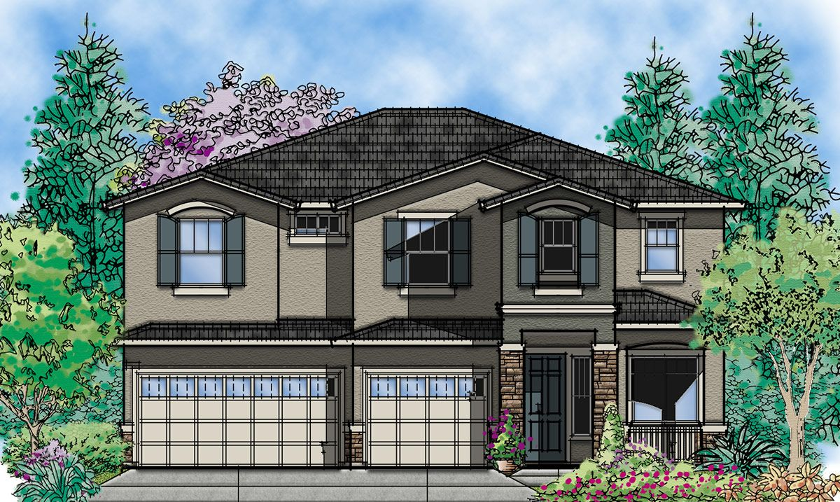 Exterior featured in the Fino By Seeno Homes in Oakland-Alameda, CA