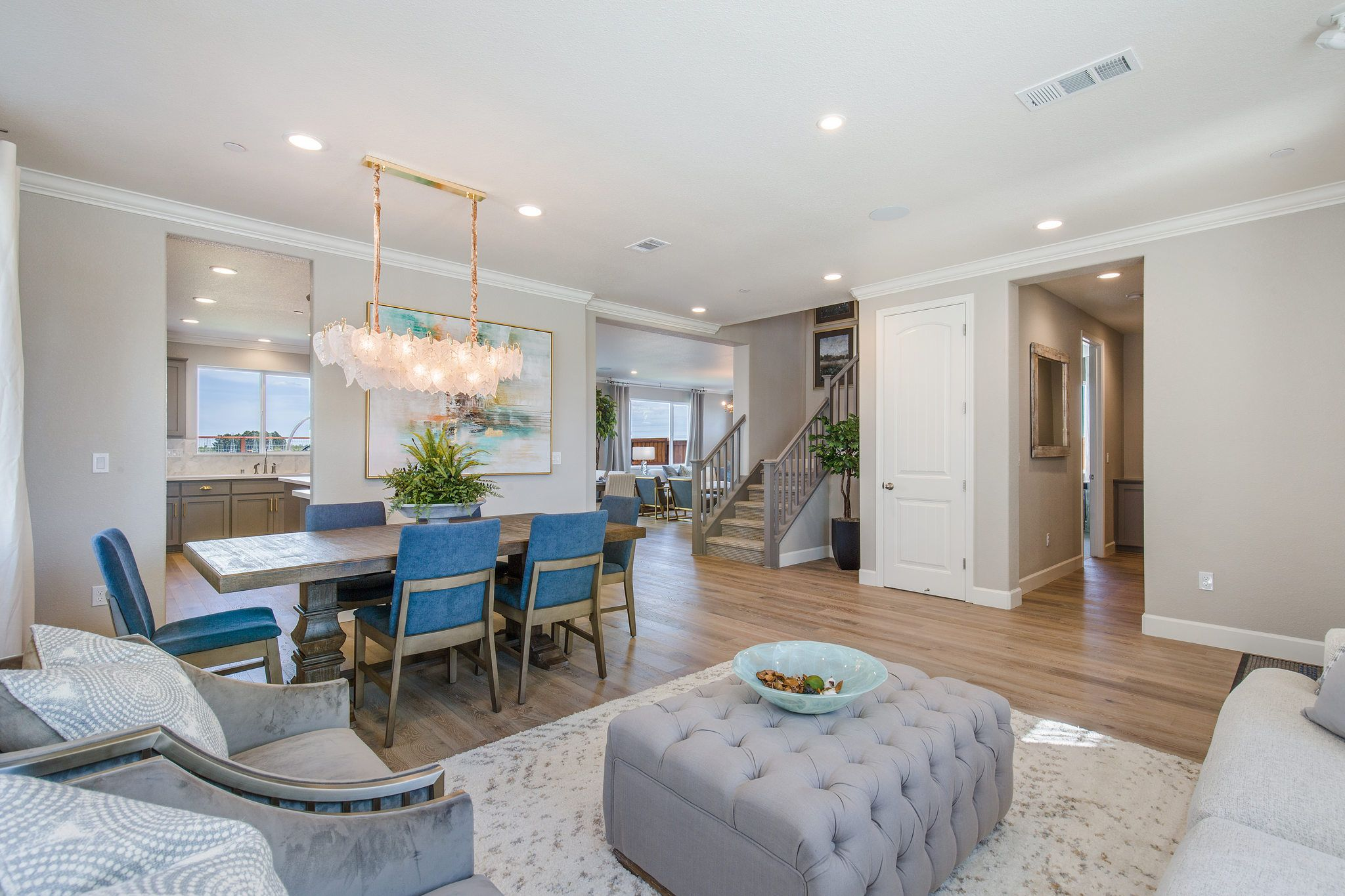 Living Area featured in the Cabral By Seeno Homes in Vallejo-Napa, CA