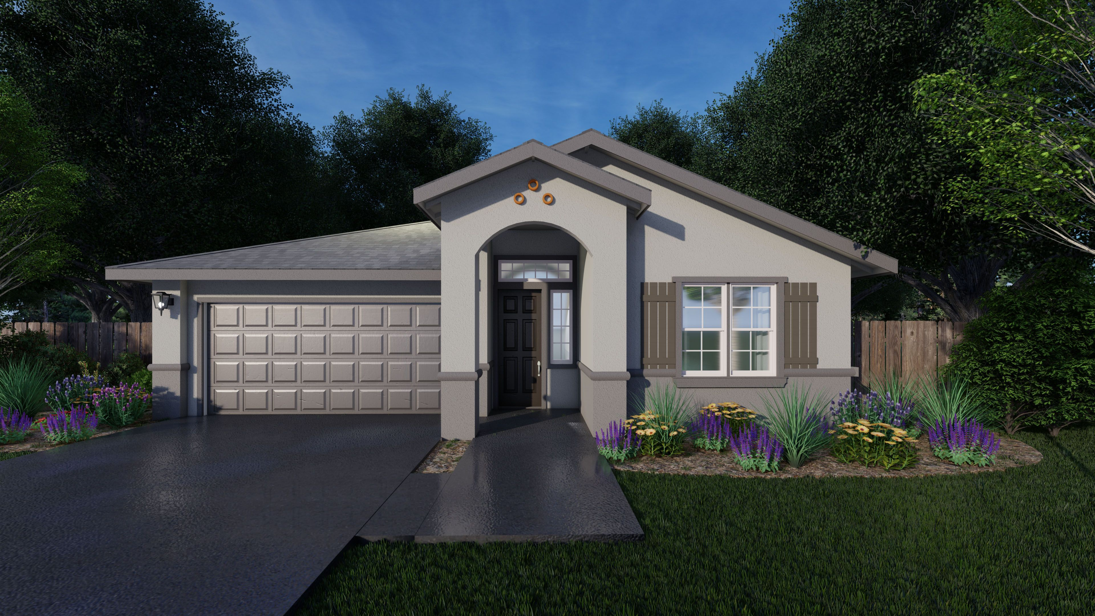 Exterior featured in the Alcott By Seeno Homes in Vallejo-Napa, CA